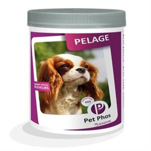 PetPhos canin special pelage 450 comprimés