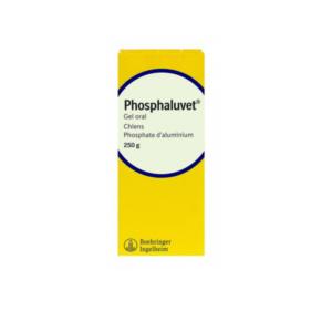 Univers.veto.Phosphaluvet gel oral pour chiens 250g