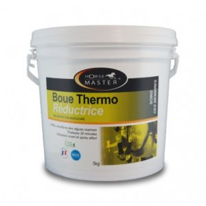 Boue thermo reductrice horse master
