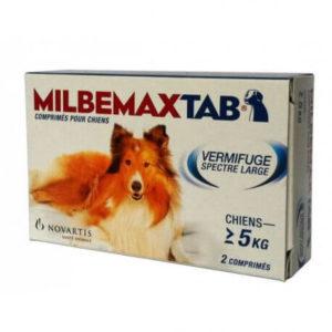 Milbemax vermifuge polyvalent pour chien
