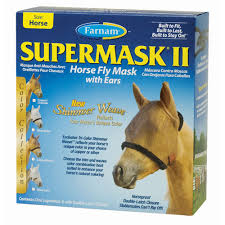 mask anti-insectes chevaux